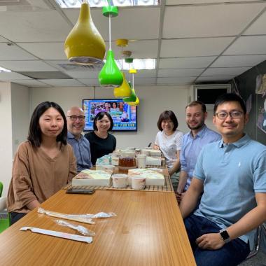 Zu Besuch bei den OSP-Kollegen in Taipeih