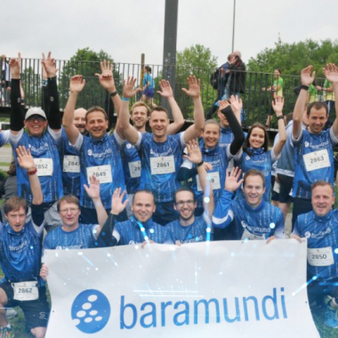 engagierte baramundi-Läufer