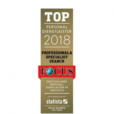 ISO Recruiting Consultants - TOP Personaldienstleister 2018