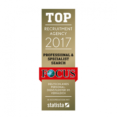 ISO Recruiting Consultants - TOP Personaldienstleister 2017