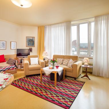 Bewohnerzimmer im Seniorenhaus Waldfriede