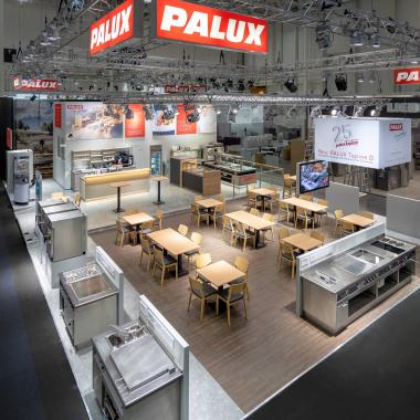 Wir von PALUX präsentieren unsere Produkte, Dienstleistungen und Lösungen auf zahlreichen nationalen und internationalen Fachmessen.