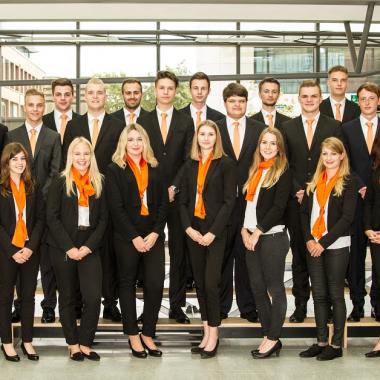 Ausbildungsjahrgang 2017 der Volksbank Mittelhessen