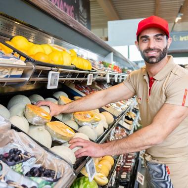 Obst- & Gemüse Mitarbeiter