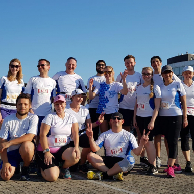 Unsere Läufer auch auf dem Hockenheimring ;-)