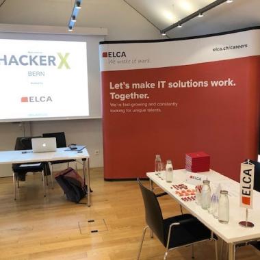 HackerX Bern 28.08.2019