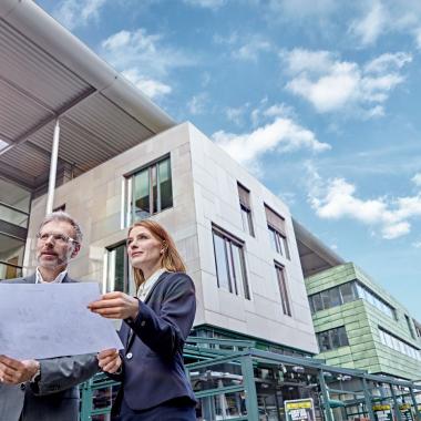 Unser Property Management kümmert sich um die Bewirtschaftung der Gebäude