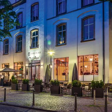 Unser Sterne-Restaurant Esplanade im Nauwieser Viertel in Saarbrücken