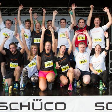 Gemeinsam auch sportliche Erfolge feiern!