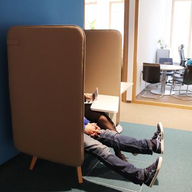 Die neuen Lounge-Chairs kommen gut an.