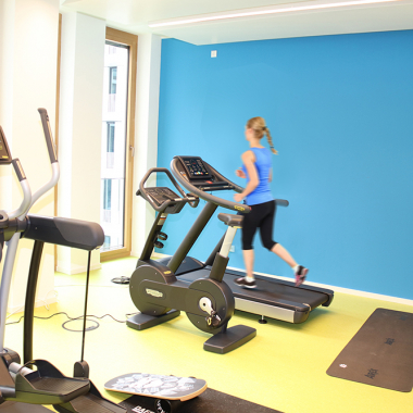 Unser Fitnessraum für die tägliche Sportdosis.