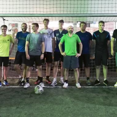 Teamgeist herrscht bei uns auch außerhalb des Büros. PROTEMA beim Soccer Ball