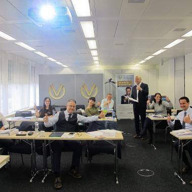 Insights-Weiterbildung mit Oliver Vogelhuber - bei uns in der Service-Zentrale