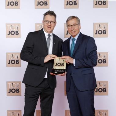 Preisübergabe Top Job 2019 in Berlin