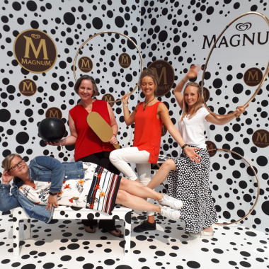 Unser Magnum Team im House of Play in Berlin.