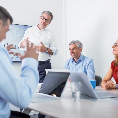 Das Management-Team der CONITAS setzt sich zusammen aus der Geschäftsführung, den Leitern der fünf Units sowie aus den Verantwortlichen der internen Bereiche.
