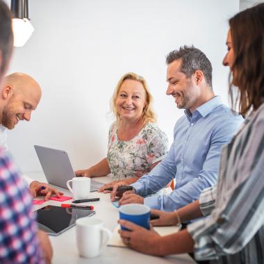 Das über 40-köpfige Team der Unit IT-Betrieb sorgt allem voran für eine stabile, sichere und störungsfreie IT-Infrastruktur.