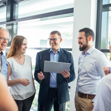 In der Unit Management-Beratung arbeiten knapp 25 Projektleiter, Trainer und Berater an unterschiedlichen Projekten im SAP-Umfeld.