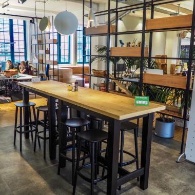 Social Space und Küche