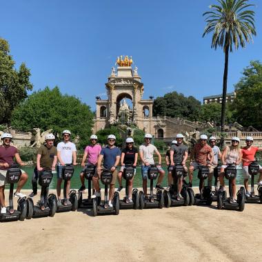 Segway Tour Barcelona 2019