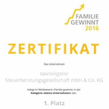 """""""Familie Gewinnt"""" - 1. Platz"""