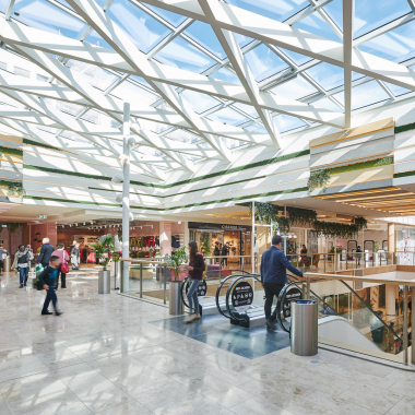 Moderne Shopping-Destinationen