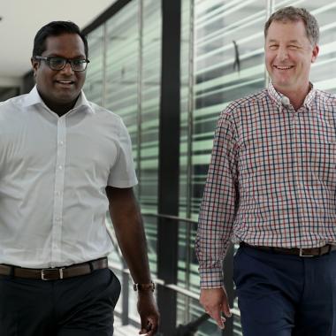 """Gemeinsam für Toleranz - Ein Gesicht der Bosch LGBT*IQ-Community ist Ram, Projektleiter und Berater bei Powertrain Solutions. """"Ich bin Teil des Wandels"""", sagt er über sich selbst. Für ihn ..."""