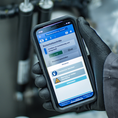 Our product: cioplenu Platform on smartphone