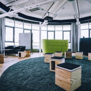 Moderne Arbeitswelt & Lounge