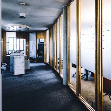 Cluster mit Büroräumen