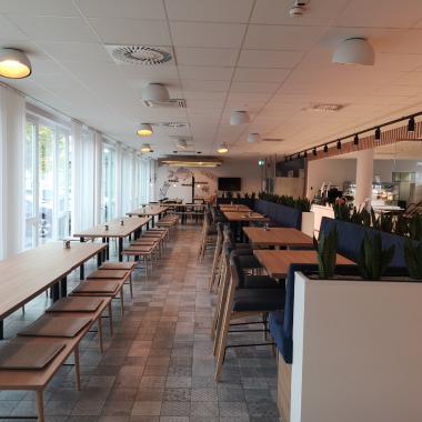 Unser ansprechendes Mitarbeiter-Restaurant in Linz