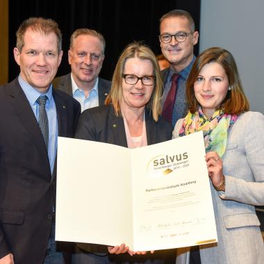 Verleihung Gesundheitsgütesiegel SALVUS 2018-2019