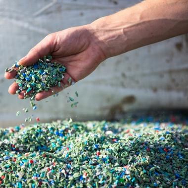 Sekundärrohstoffe - Kunststoffgranulat