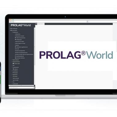 DIe Software PROLAG®World auf mobilen Geräten