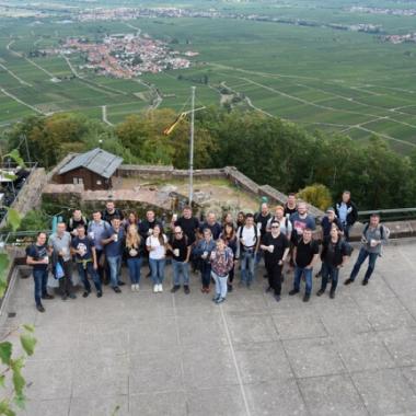 IntelliShop Sommerfest 2018 - Weinwanderung in der Pfalz