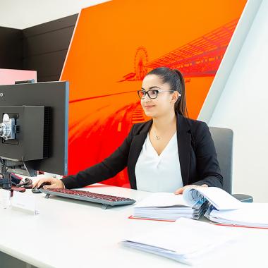 Bei modernst ausgestatteten Arbeitsplätzen macht das Arbeiten automatisch noch mehr Spaß!