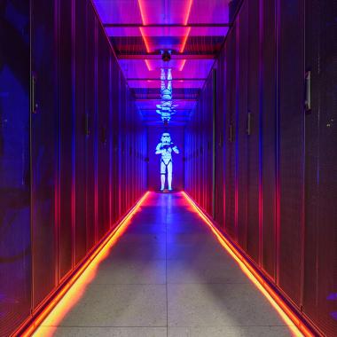 Das Datacenter-Maskottchen