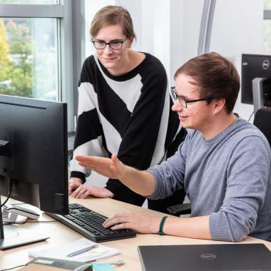 Auf Teamwork wird bei Governikus viel Wert gelegt.