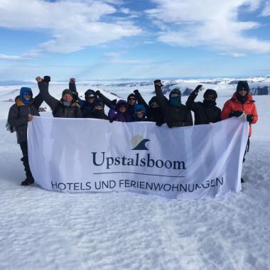 Unsere Polar-Rockstars in Spitzbergen