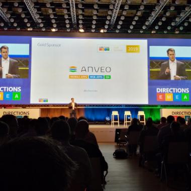 Unsere Key Note Präsentation vor über 2.500 Teilnehmern in Wien.