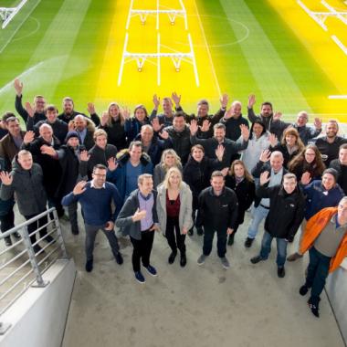 Team-Workshop in der Red Bull Arena
