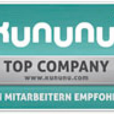 Auszeichnung Top Company