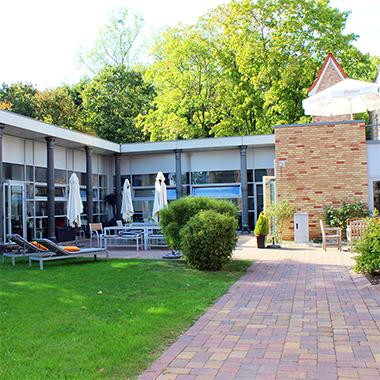Unser Campus bietet mehrere Rückzugsmöglichkeiten für unsere Community.