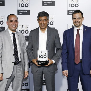 "itemis ist ""Innovator des Jahres"" bei TOP 100"