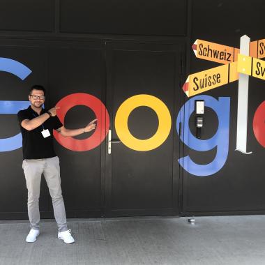 Unser Geschäftsführer Dirk zu Besuch bei Google in San Francisco