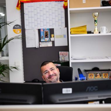BIG Mitarbeiter Informationstechnologie (© Philipp Horak)