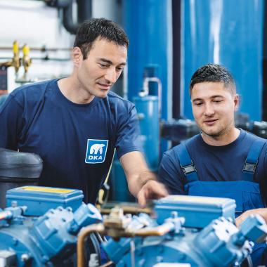 Dussmann Technical Solutions (DTS), DKA Betriebs- und Investitionssicherheit über den gesamten Lebenszyklus von Klima- und Kälteanlagen.