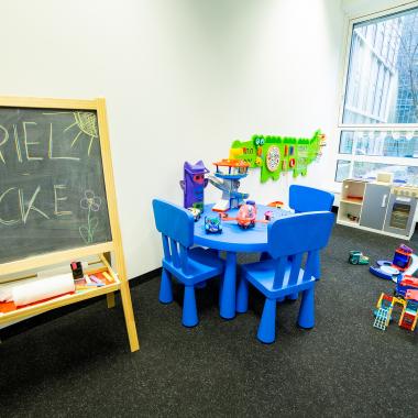 Unser Eltern-Kind Büro