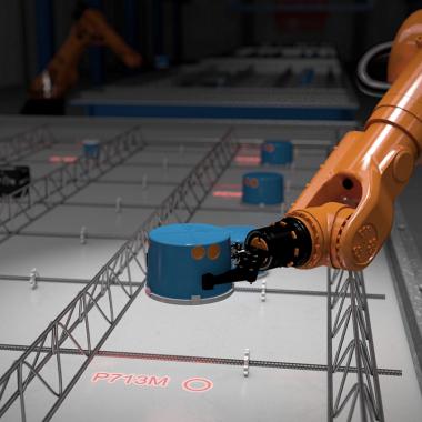 Wir denken heute bereits an die Anforderungen der Zukunft und sorgen für eine vernetzte und vollautomatische Fertigung im Betonwerk.