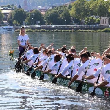 Drachenbootrennen Heidelberg 2019